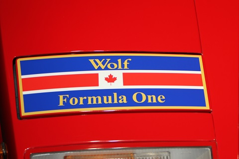 2018 WS Wolf F1 Sticker
