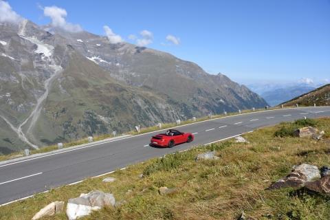 Autos Porsche Glockner