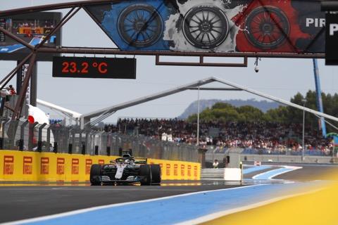 Hamilton finish