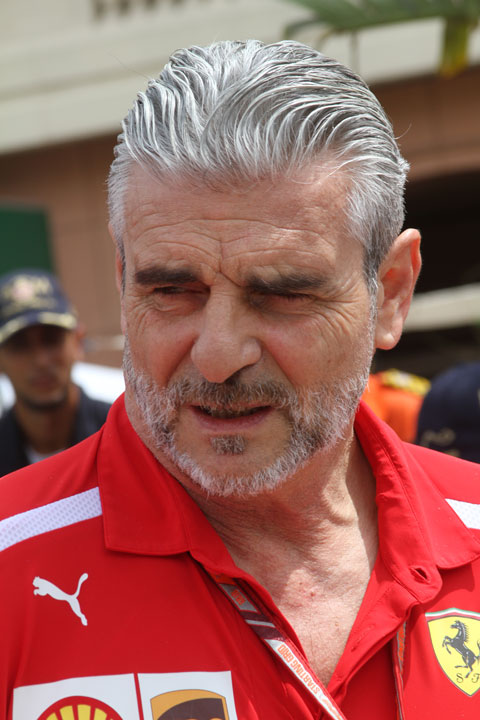 Maurizio-Arrivabene-Teamchef-Ferrari