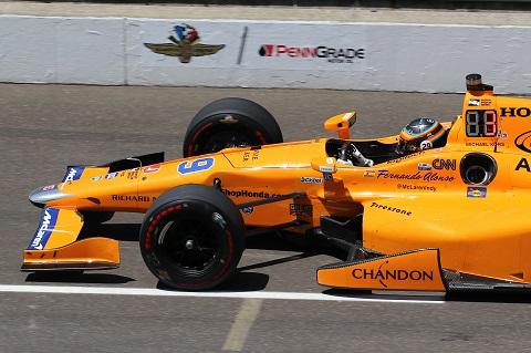 Alonso Indy 2017