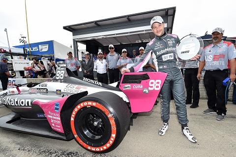 Marco Andretti Pole 1