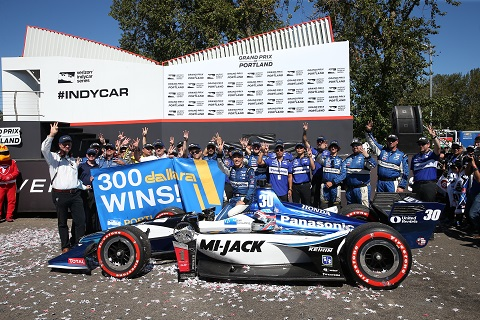 300e Dallara overwinning