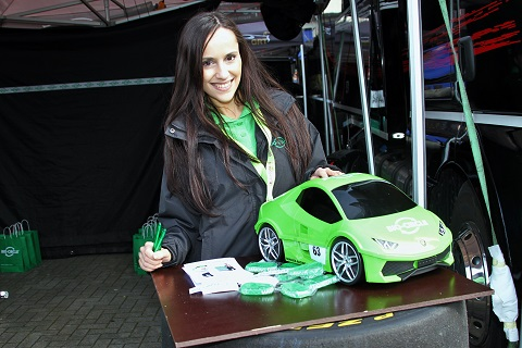 2018 Lamborghini meisje
