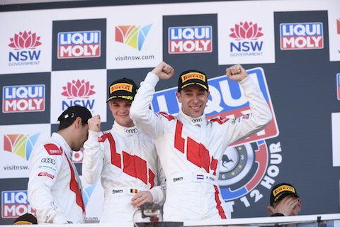 180204 Bathurst Frijns podium