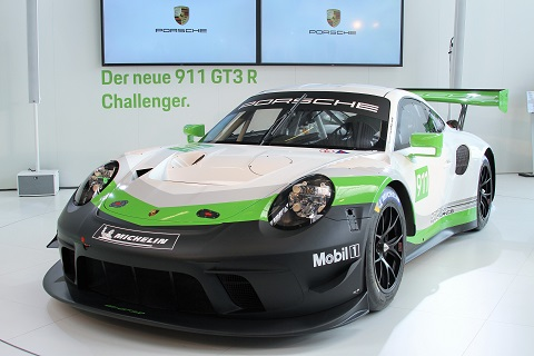 2018 3 Porsche GT3 R
