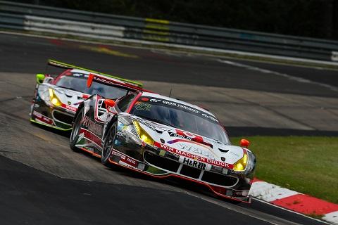 Ferrari Kwalificatie spektakel