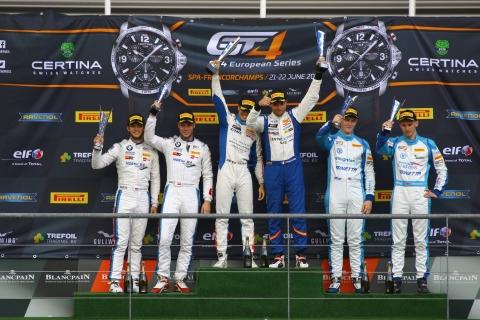 180722 Knap Koebolt GT4 Spa podium