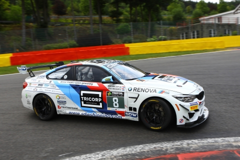 180722 Van der Aa Bogaerts GT4 Spa Action
