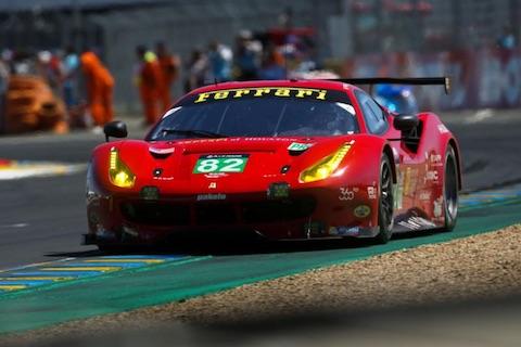 180214 WEC Risi Ferrari