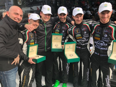 180128 Rolex Finish GRT Team Watches