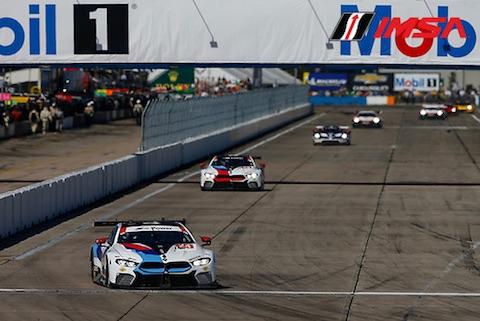 180317 Sebring Race BMW