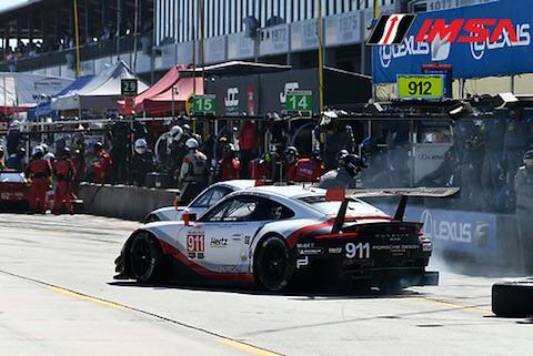 180317 Sebring Race Porsches