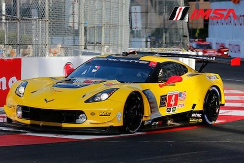180414 IMSA race Corvette