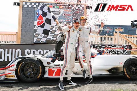 180506 IMSA race Podium