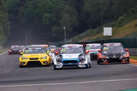 2018-2018 Spa Race 2---2018 TCR Europe Spa R2 start 4