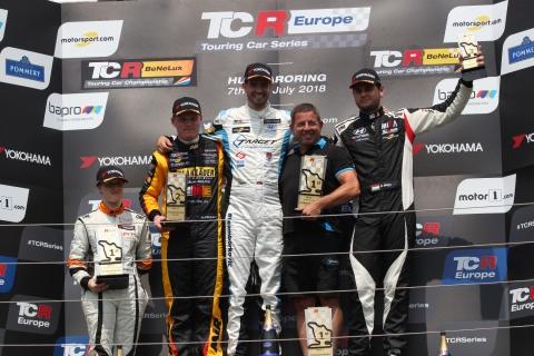 2018 Hungaroring R1 podium 3