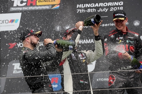 2018 Hungaroring R2 podium 4