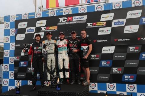 2018 Monza R1 podium