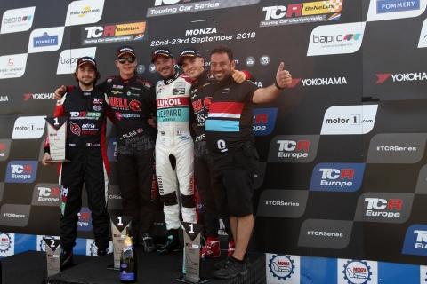 2018 Monza R2 podium