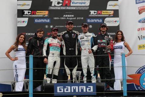 2018 Assen R1 podium