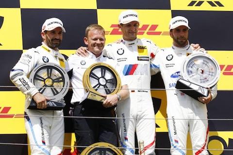 180603 DTM R2 podium