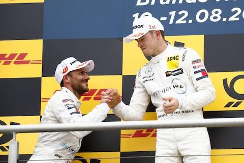 180812 DTM R2 podium