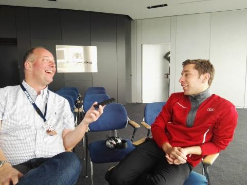180409 DTM Interview Frijns
