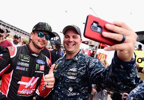 Selfie Kurt Busch