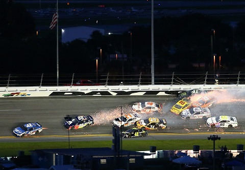 Elliott Hamlin crash
