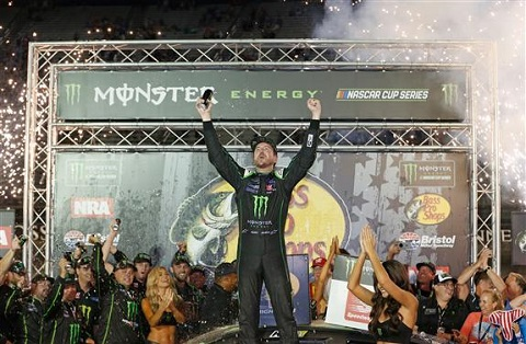 Kurt Busch Winners Circle