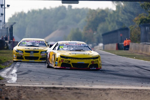 Stienes Longin leading the race