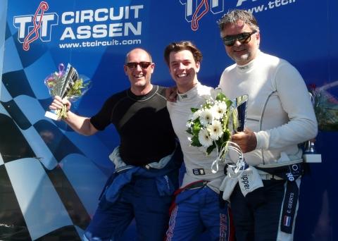Max Weering zilhouette 3 podium