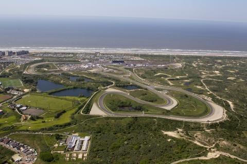Persbericht - Robert van Overdijk-Luchtfoto Circuit Zandvoort-Essay