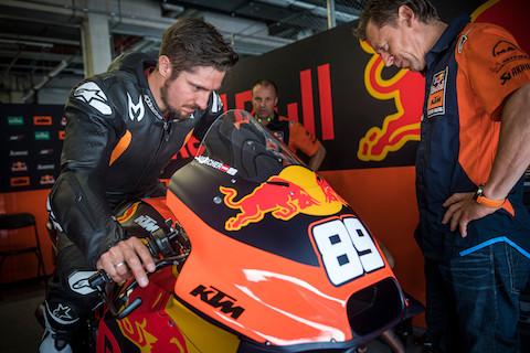 Hirscher MotoGP