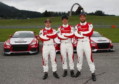 Hirscher Neureuter Svindal TT Cup
