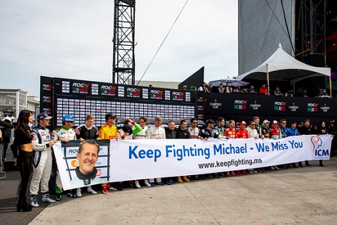 Michael Schumacher tribute
