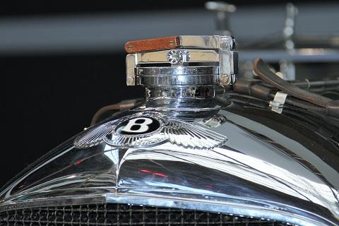 1929 Bentley Front