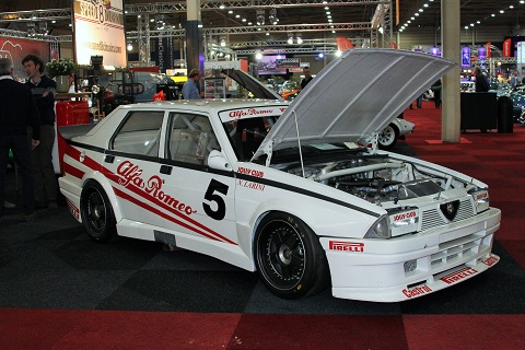 2019 1987 Alfa 76 Italiaanse kampioenschap Larini