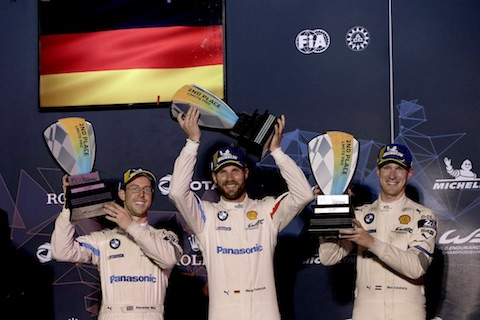 190315 WEC Race podium BMW