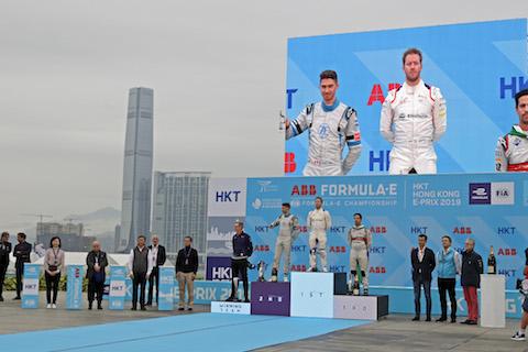 190310 FE Race Podium