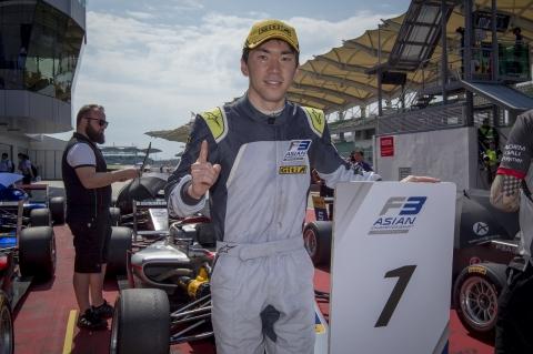 AF3 Race 1 Ukyo Sasahara