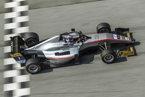 AF3 Race 1 winner