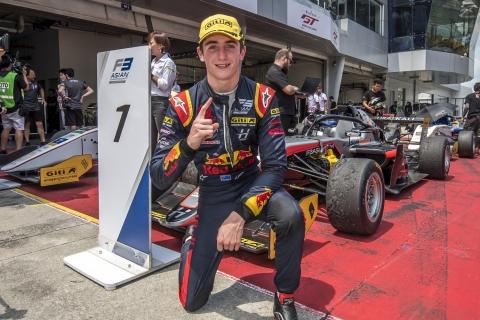 F3AC Race 3 Winner Jack Doohan