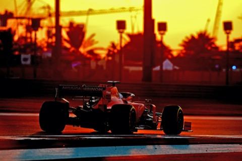 Ferrari zonsondergang