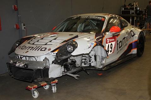 2019 Crash Porsche