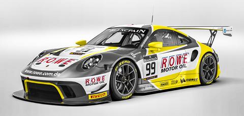2019 ROWE Porsche
