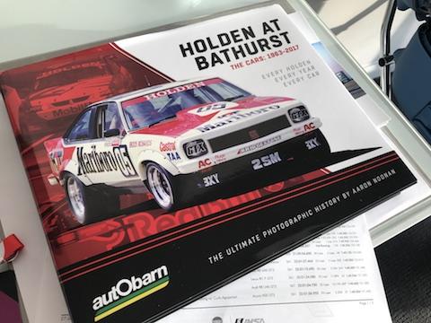 Bathurst Holden boek