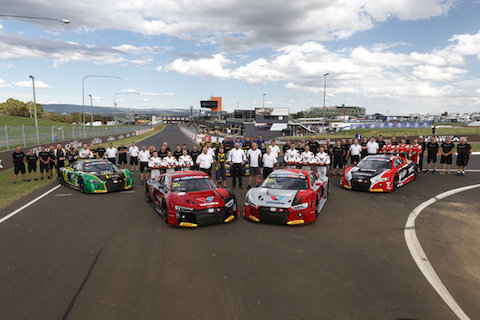190201 Bathurst preview Audi teamfoto