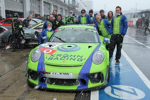 2019 Krohn Racing Groepsfoto
